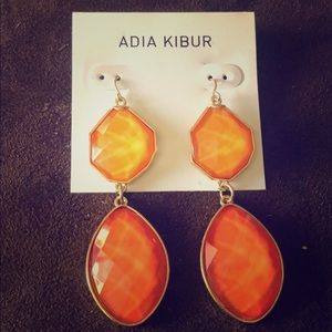 Adia Kibur Stone Drop Earrings NWOT